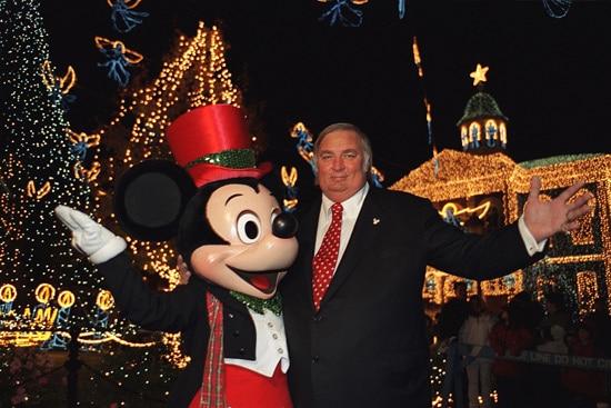 Jennings Osborne and Mickey Mouse