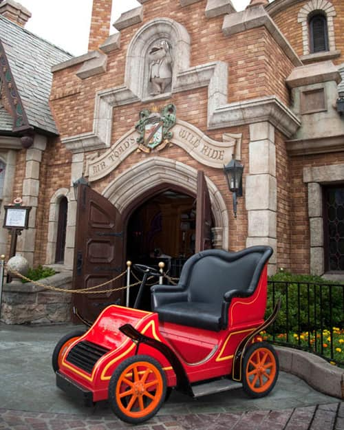 Mr. Toad's Wild Ride at Disneyland Resort