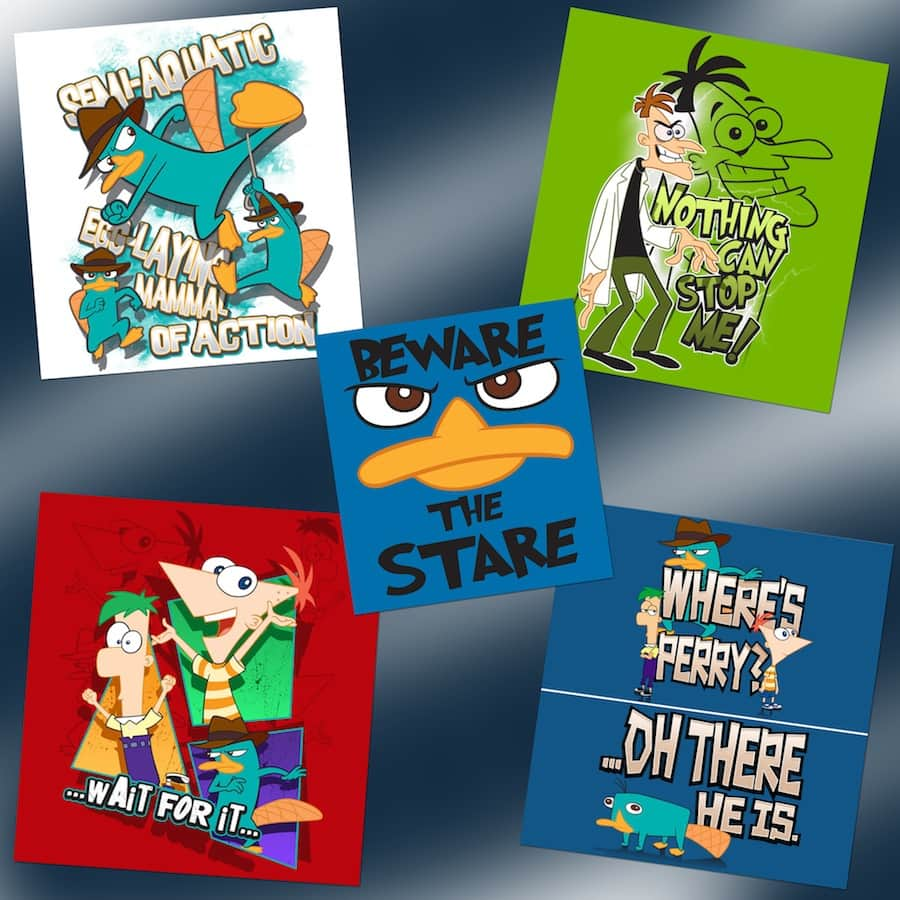 Ferb Images phineas and ferb' merchandise coming to disney parks