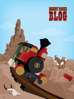 Big Thunder Mountain Railroad iPhone/Android Wallpaper