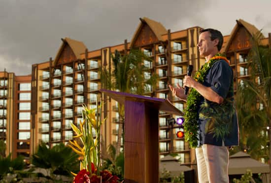 Tom Staggs at Aulani, a Disney Resort & Spa