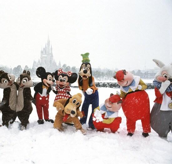 Caption This: A Disney Snowfall