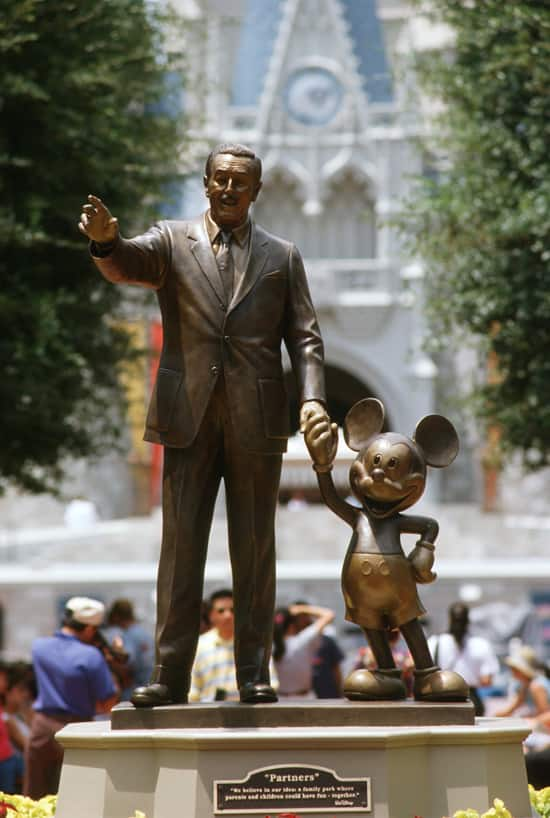 Mickey Mouse at Disney Parks
