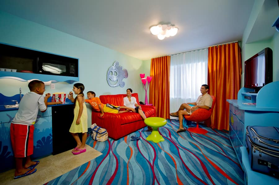 First Look Family Suites at Disney\u0027s Art of Animation