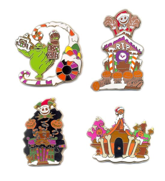 Gingerbread Mystery Pins