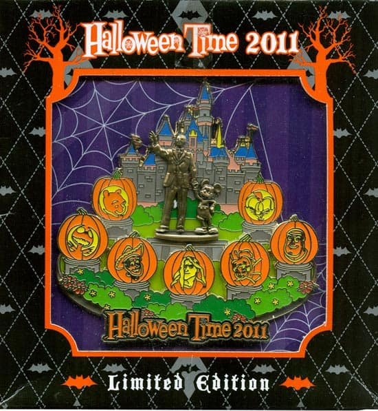 Halloween Time 2011 Annual Passholder Pin