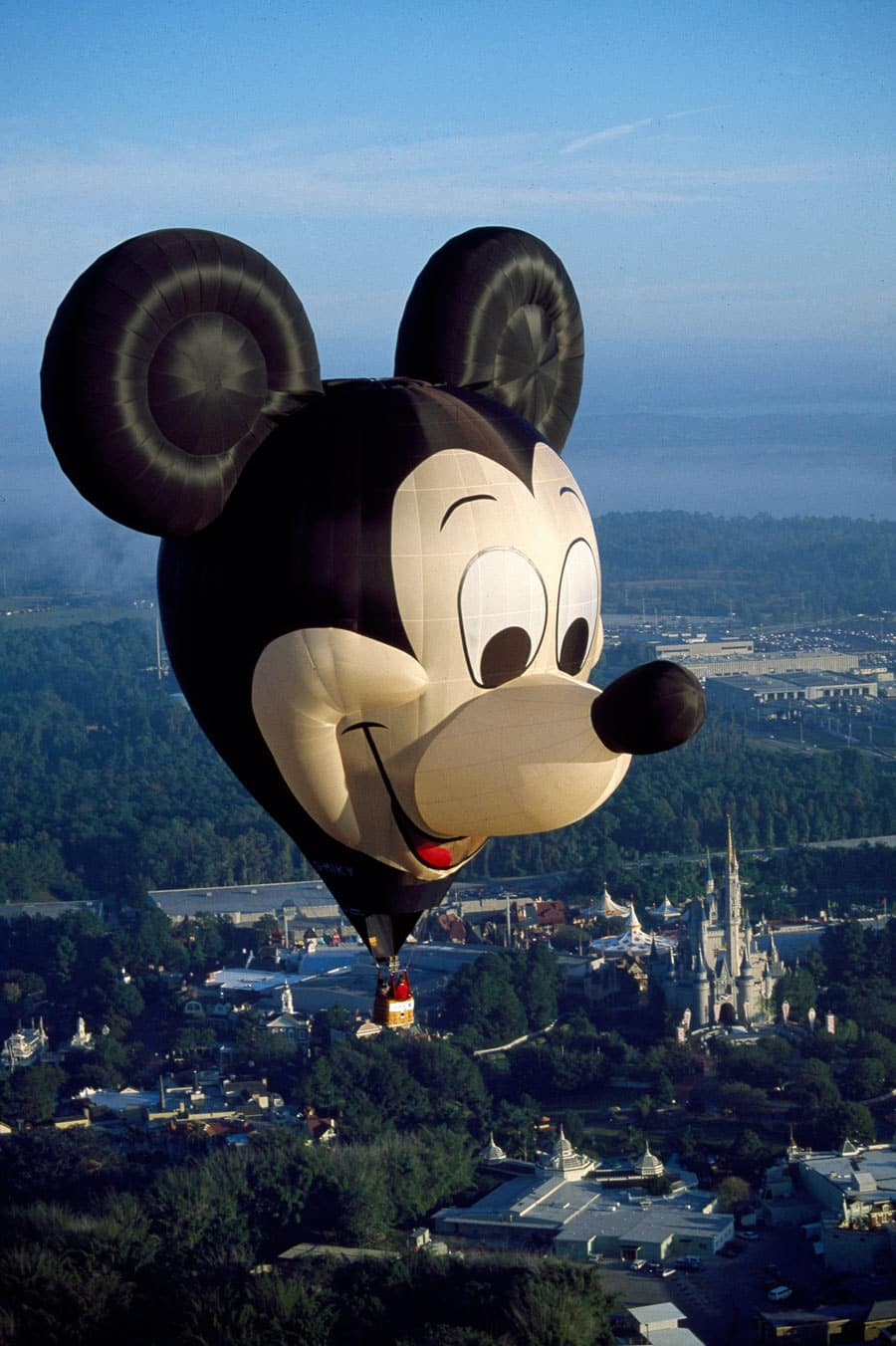 Mouse in a Hot Air Balloon