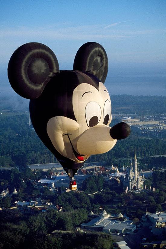 EARFORCE ONE Flying Over Walt Disney World Resort