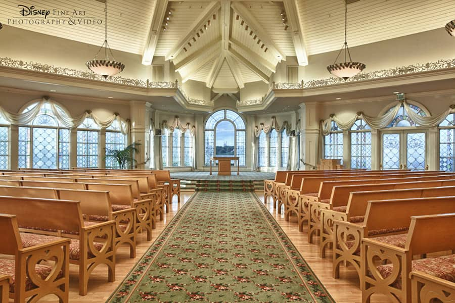New Stained Gl Windows At Disney S Wedding Pavilion