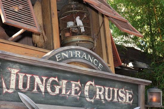 Zoyie at Jungle Cruise in Disneyland Park