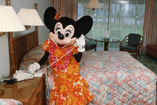 Minnie Visits Disney's Polynesian Resort