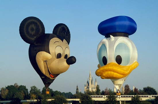 ZIP-A-DEE-DOO DUCK and EARFORCE ONE