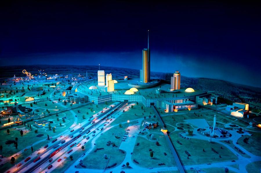 Progress City Model at Magic Kingdom Park
