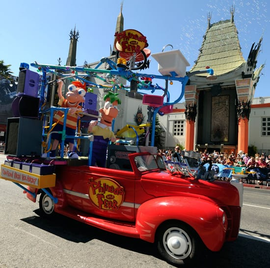 Phineas and Ferb Celebrate the Premiere of 'Phineas and Ferb: Across the 2nd Dimension'