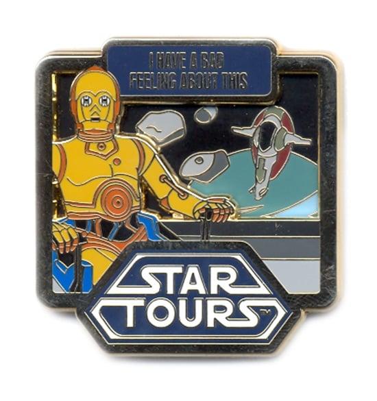 Star Tours C-3PO Pin