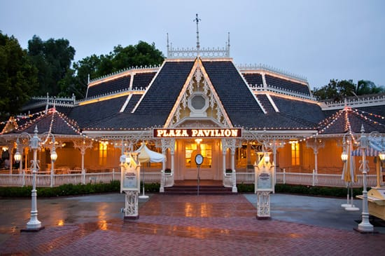 The Plaza Pavilion at Disneyland Park