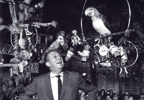 Walt Disney at the Enchanted Tiki Room
