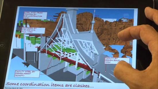 Walt Disney Imagineers Use Tablet Computers at Disney Parks Construction Sites