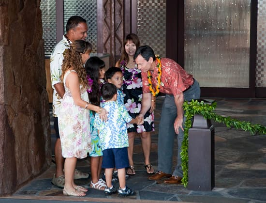 Disney Parks & Resort Chairman Tom Staggs Welcomes Guests to Aulani