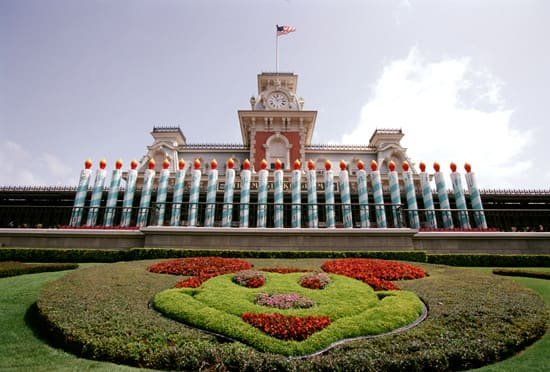 25 Candles Signifying the 25th Anniversary of Walt Disney World Resort