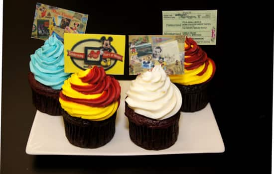 40th Anniversary Souvenir Cupcakes at Walt Disney World