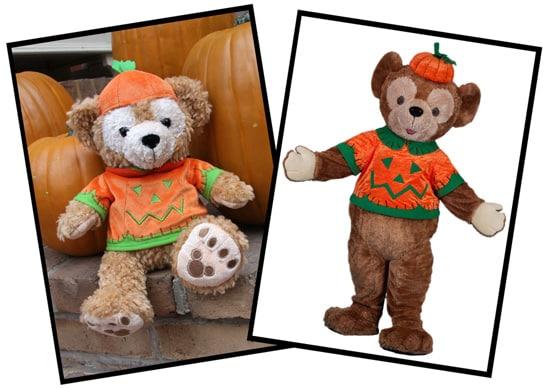 Halloween Pumpkin Duffy The Disney Bear