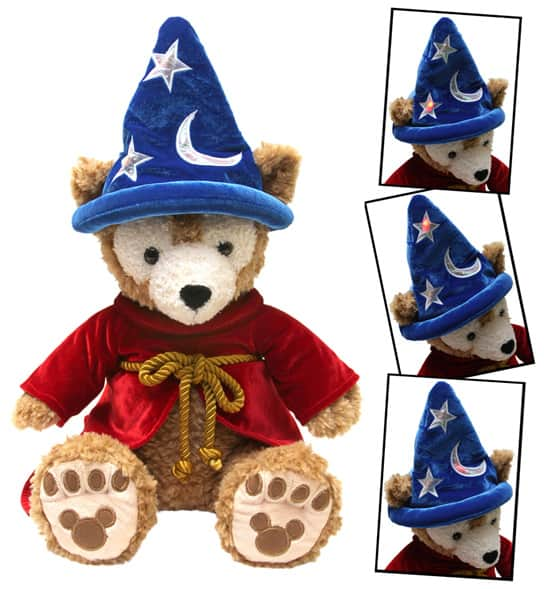Duffy The Disney Bear in Sorcerer Mickey Costume