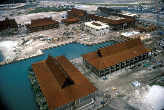Construction of Disney's Polynesian Resort began in February 1971.