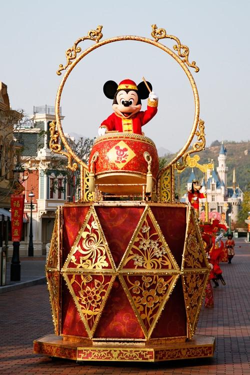 Mickey Mouse at Hong Kong Disneyland