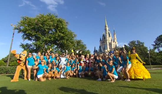 Miss America Contestants Visit Walt Disney World Resort