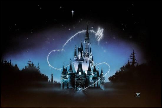 Art from California Artist, Noah, for Walt Disney World's 40th Anniversary