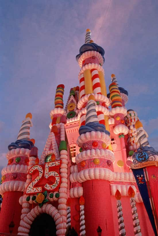 Centerpiece of the Anniversary Celebration - the 185-Foot-Tall Birthday Cake