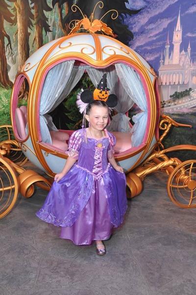 Princess Package at Bibbidi Bobbidi Boutique in Disneyland Park