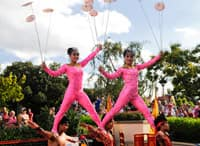 Jeweled Dragon Acrobats at Epcot