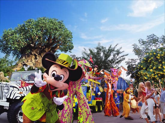 Mickey's Jammin' Jungle Parade at Disney's Animal Kingdom After All These Years