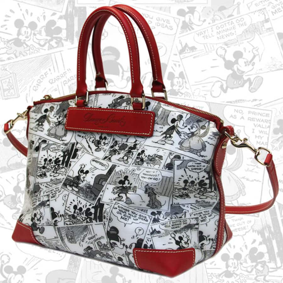 New Satchel From The Dooney Bourke Comic Collection