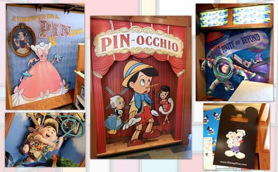 Playful New Visuals Installed at Disney's Pin Traders in Downtown Disney Marketplace at Walt Disney World Resort