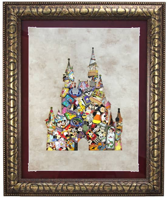 The Deluxe Framed Castle Pin Set