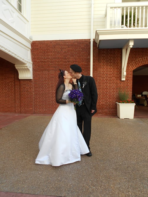 A Halloween Wedding at Walt Disney World