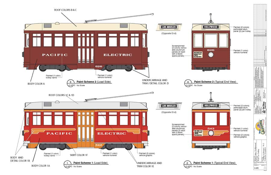 Red Car Trolley at Disney California Adventure Park Will be a Ride ...