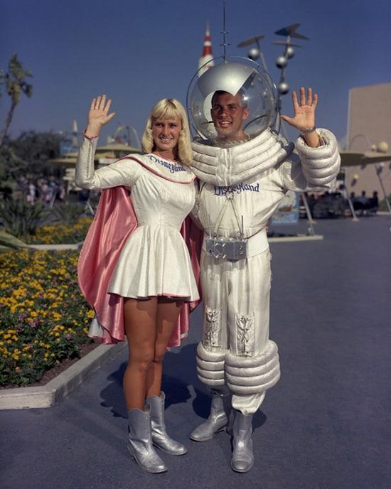 Caption This: Tomorrowland 'Spacecouple' at Disneyland Park