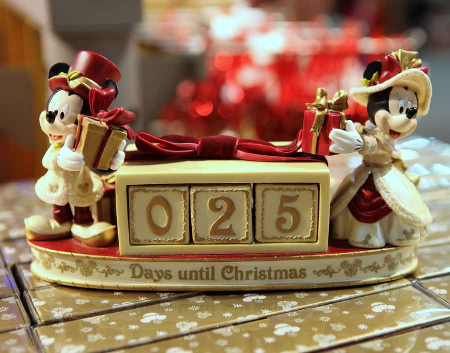 decorating disney style for the holidays - Countdown Till Christmas Decoration