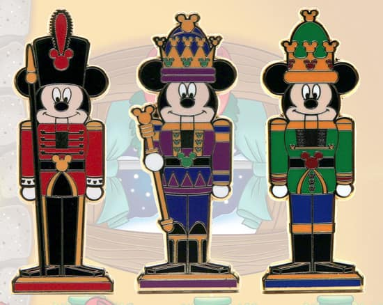 Limited-Release Mickey Nutcracker Pins Available with New Holiday Disney Gift Cards