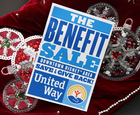 The Benefit Sale on November 5