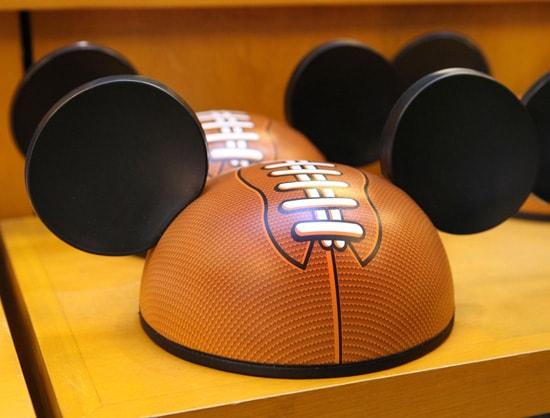 Football-Inspired Disney Ear Hat