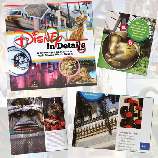 Walt Disney World Resort's 'Disney in Details' Book
