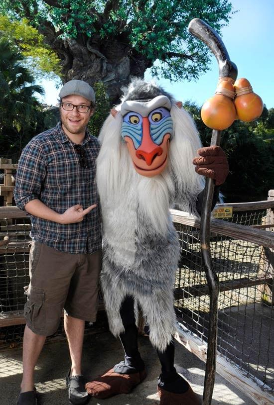 Rafiki with Funnyman Seth Rogen