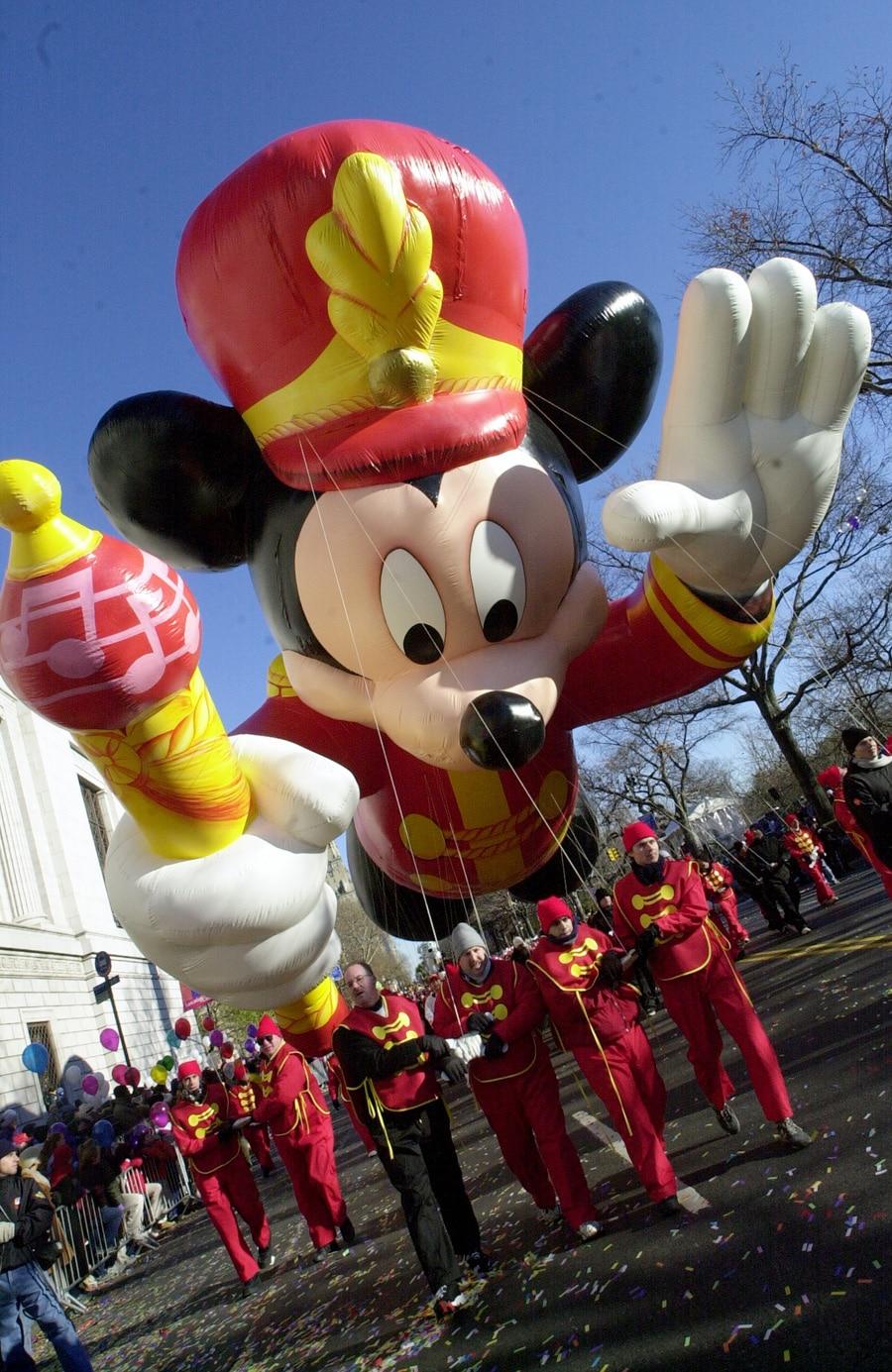This Week in Disney History: Mickey Debuts in the Macy's ...