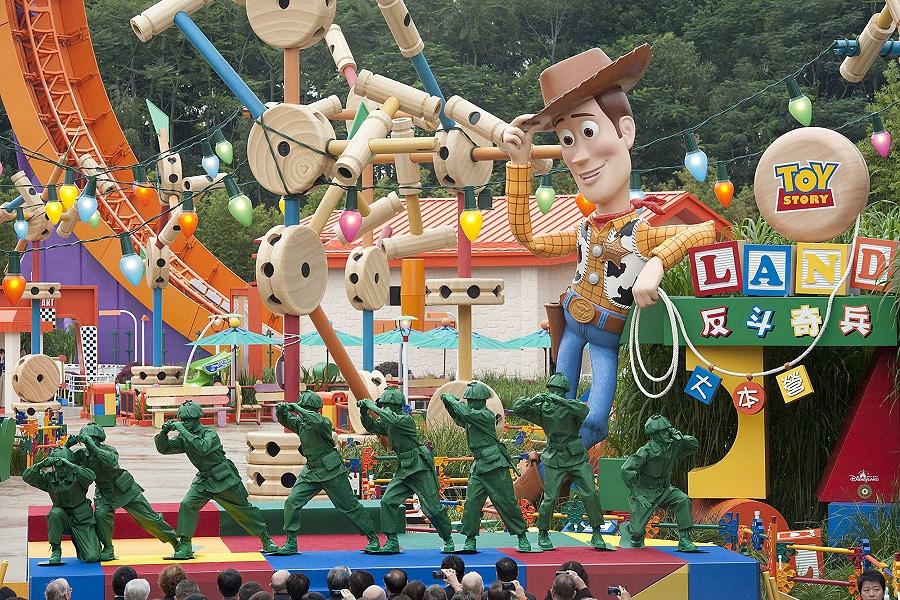 Toy Story Land Officially Opens At Hong Kong Disneyland Disney