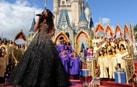 Jennifer Hudson Performs a Holiday Medley at Magic Kingdom Park